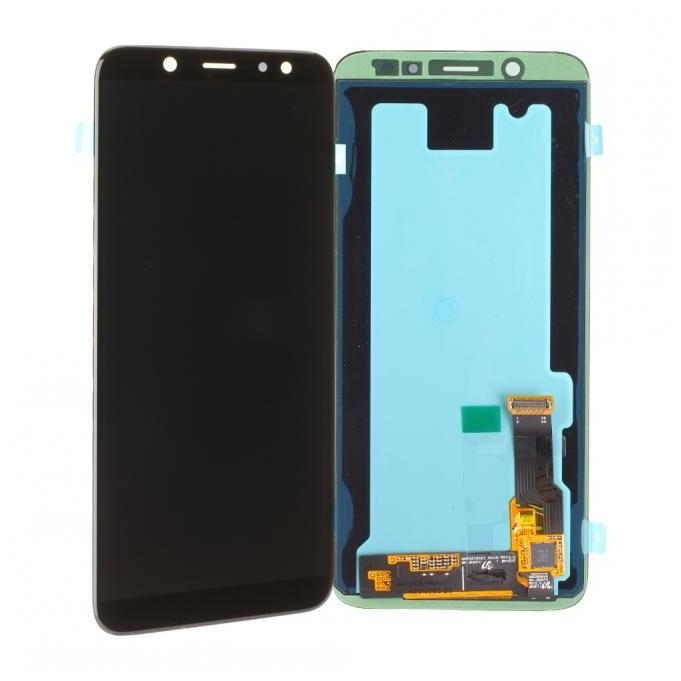 Samsung Galaxy A6 2018 A600 LCD + Touch Einheit Schwarz