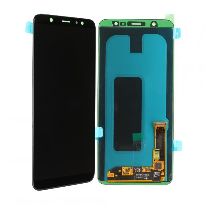 Samsung Galaxy A6+ 2018 A605 LCD + Touch Einheit Schwarz