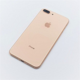 iPhone 8 Plus Backcover Gehäuse Akkudeckel in Gold