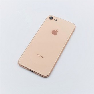 iPhone 8 Backcover Gehäuse Akkudeckel in Gold
