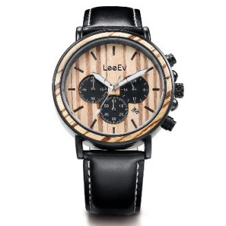 LeeEv Natural Wood Watches Blackwood