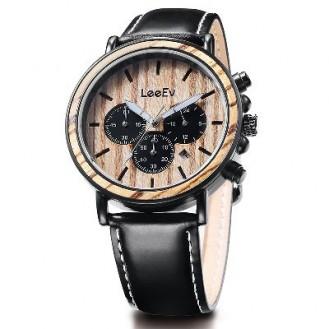 LeeEv Natural Wood Watches Blackwood