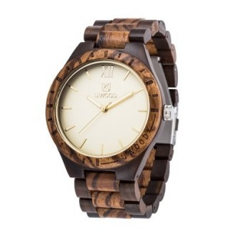 UWOOD Natural Wood Watches Holzuhr