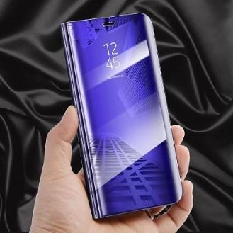Samsung Galaxy S9 Spiegel Clear View Case Lila
