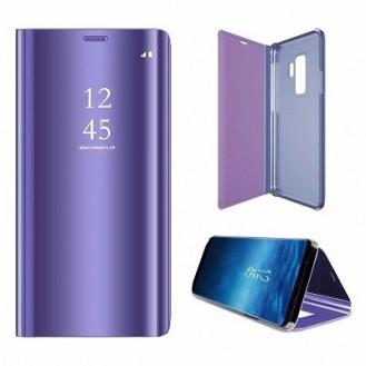 Samsung Galaxy S9 Plus Spiegel Clear View Case Lila