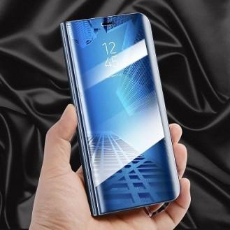Samsung Galaxy S9 Plus Spiegel Clear View Case Blau