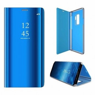 Samsung Galaxy S9 Spiegel Clear View Case Blau