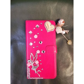 Bling Rose Cover Case Hülle iPhone 7 Plus, 8 Plus