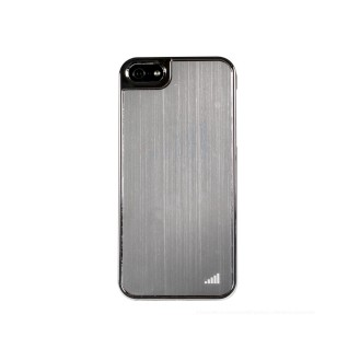 Silber UltraThin Alu Case für iPhone 5 / 5S / SE