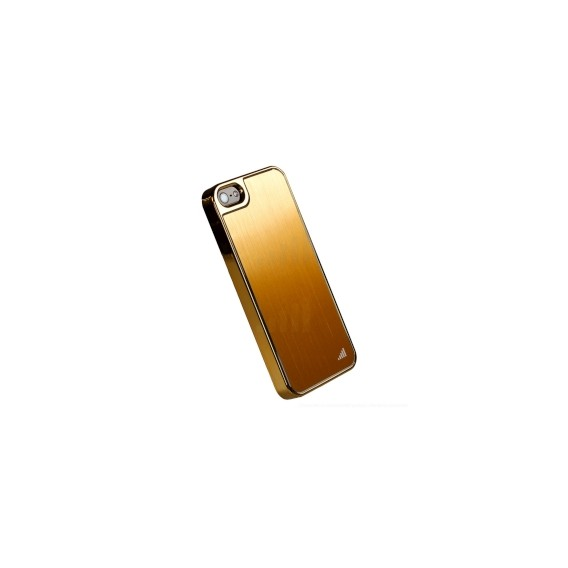 Gold UltraThin Alu Case für iPhone 5 / 5S / SE