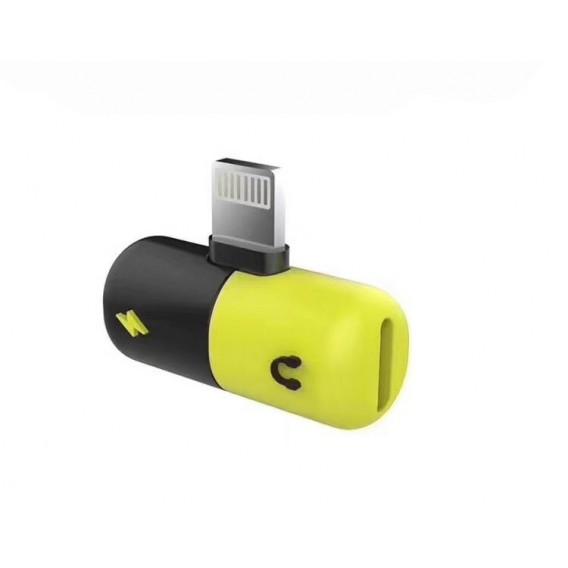 2in1 Adapter für Musik und Laden iPhone