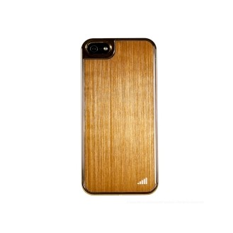 Gold UltraThin Alu Case für iPhone 5 / 5S / SE