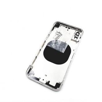 iPhone X Akkudeckel Backcover Rückseite Mittelrahmen Gehäuse Schwarz