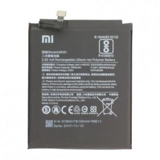Xiaomi Akku BN31, Bulk für Mi 5X/Redmi Note 5A Pro
