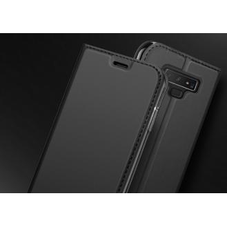 SZ Leder Book Case Etui Galaxy Note 9 Grau