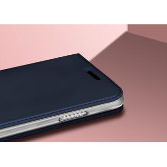 SZ Leder Book Case Etui Galaxy Note 9 Blau