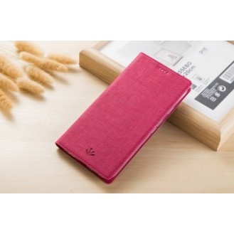 Galaxy Note 9 Book Case Wallet Tasche Pink