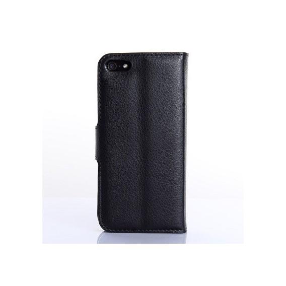 iPhone 5C Book Case Wallet Tasche Schwarz