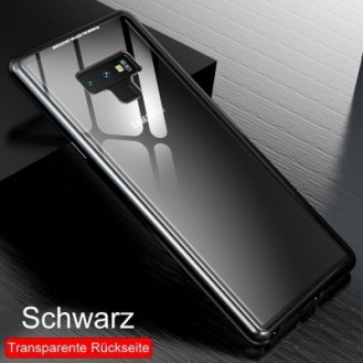 360° Magnet Cover Hülle Galaxy Note 9 Schwarz