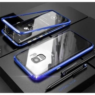 360° Magnet Cover Hülle Galaxy S8 Blau
