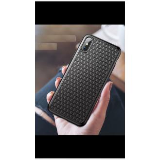 Baseus Glitter Transparent Hülle für iPhone XS-XS Max- XR