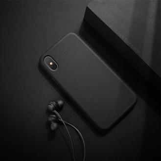 XUNDD iPhone XR Hard Silikon Hülle Schwarz