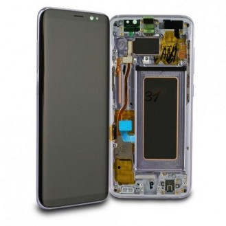 Samsung Galaxy S8 LCD Frontcover, Violett