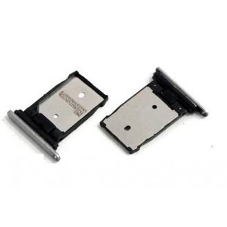 HTC One A9 Sim Karten Halter Silber