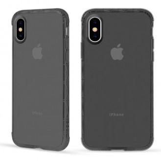 iPhone XS Max Silikon Case Hülle Grau