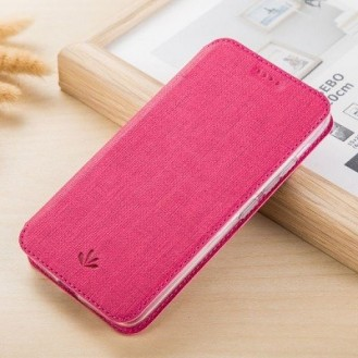 iPhone XS Max Vili Smart Case Etui Rosa