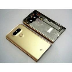 LG G6 Akkudeckel Rückseite Kamera Linse Schwarz