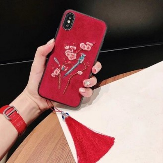 iPhone XS Max Bling Rot Case Hülle