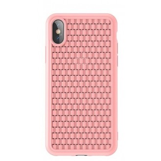 iPhone XR  Silikon Hülle Pink