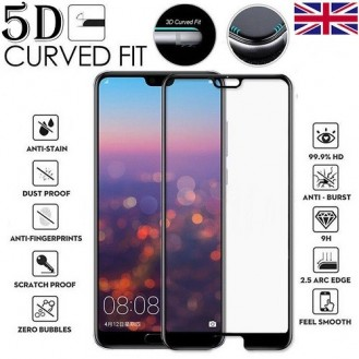 5D Tempered Glass für Huawei P Smart