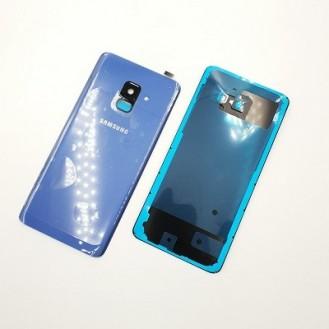 Samsung Galaxy A8 2018 Akkudeckel Backcover Blau
