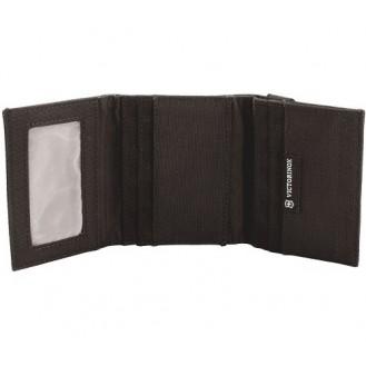 Victorinox Deluxe Reise Portemonnaie mit Ausweisfach Schwarz
