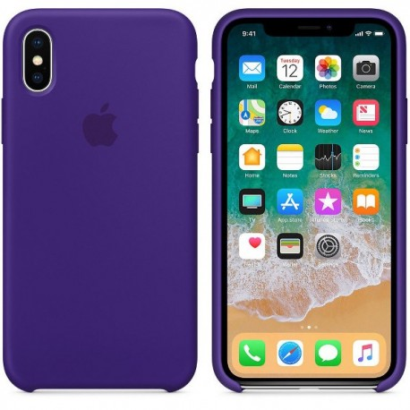 iPhone XR Silikon Case Ultra Violet