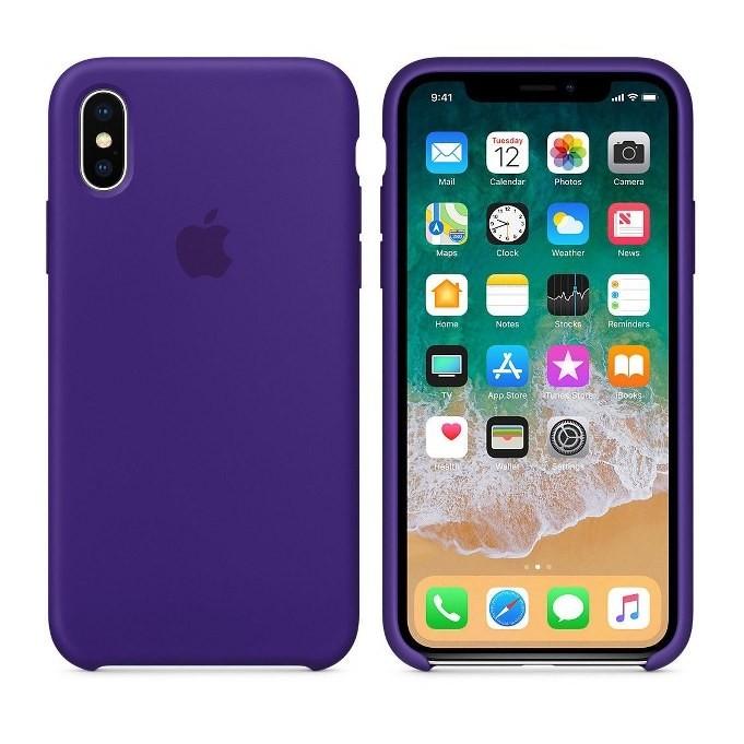 iPhone XR Silikon Case Ultra Violet