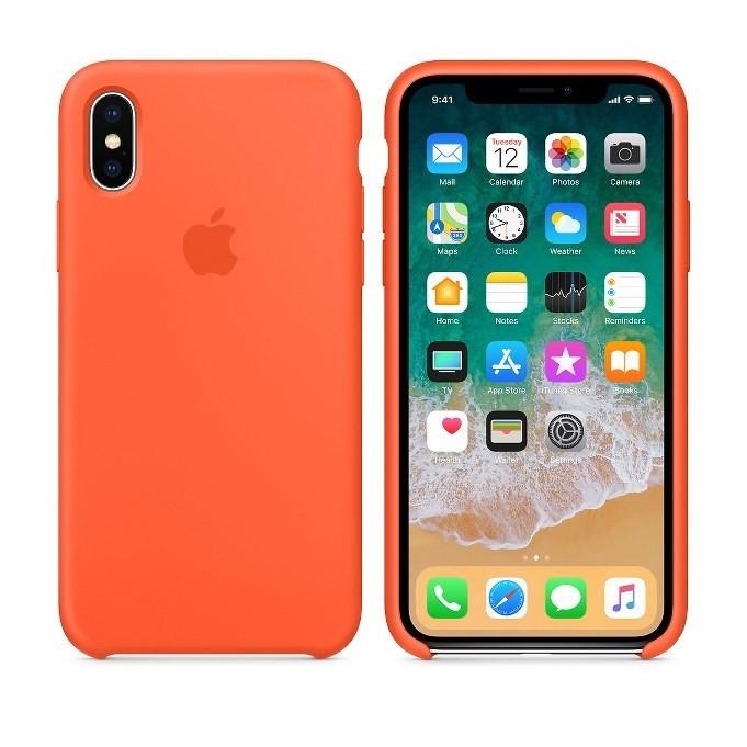 iPhone XR Silikon Case Orange
