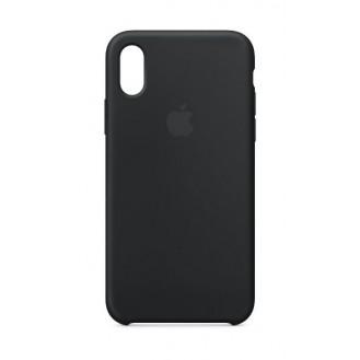 iPhone XS Max Silikon Case Schwarz