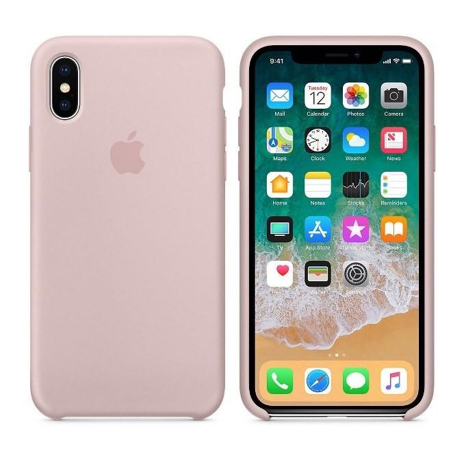 iPhone XR Silikon Case Pink Sand