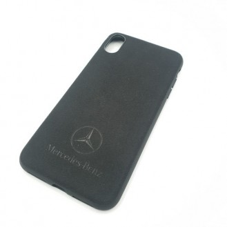 Alcantara Mercedes Case für iPhone XS Max
