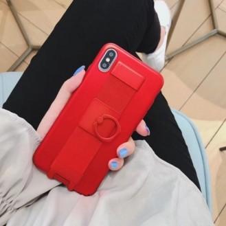 iPhone XS,X Befestigung Case Rot