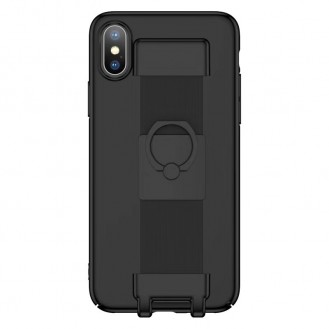 iPhone 7,8 Plus Befestigung Case Schwarz