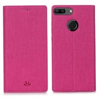 Huawei Mate 20 Pro Vili Leder Hülle Etui Rosa