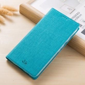 Huawei Mate 20 Pro Vili Leder Hülle Etui Blau