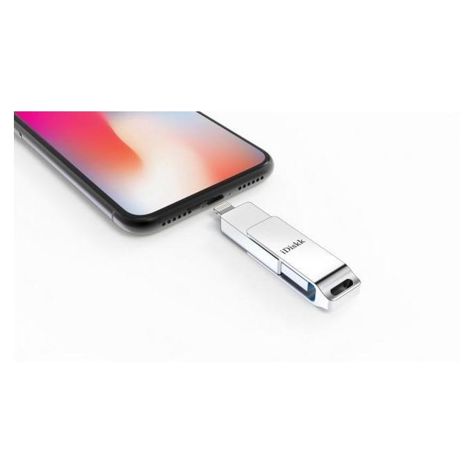 iDiskk U006 USB 3.0 Speicher Stick für Apple iPhone, iPad, iPod 32GB Silber, OVP