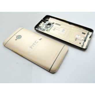 HTC One M7 Akkudeckel Gold