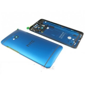 HTC One M7 Akkudeckel Blau