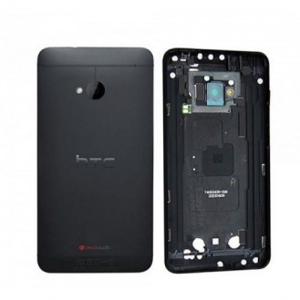 HTC One M7 Akkudeckel Schwarz